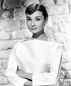 Bella cara de Audrey Hepburn