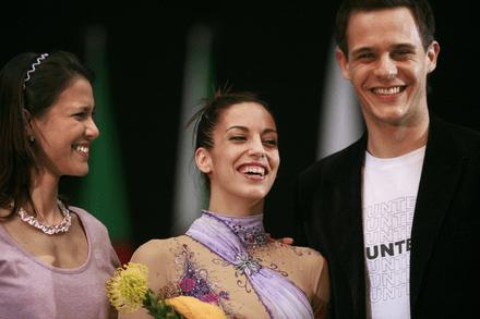 Premio a la Elegancia, concedido a Almudena Cid en la Copa del Mundo 2008. Crédito: Tom Teobald