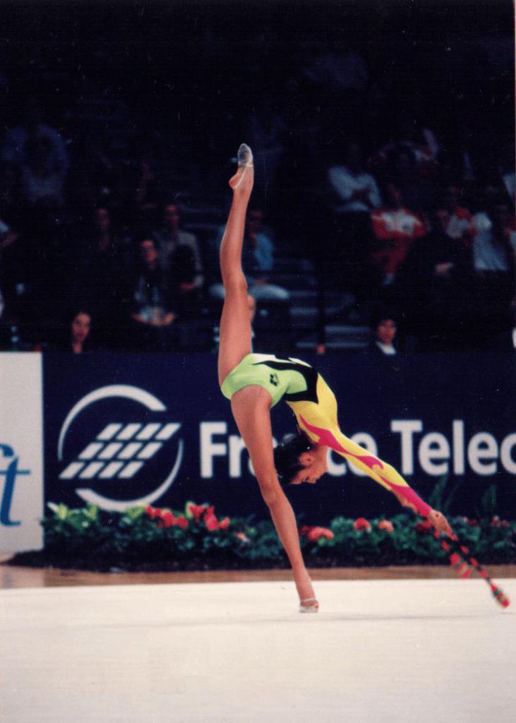 Almudena Cid en Viena 1995