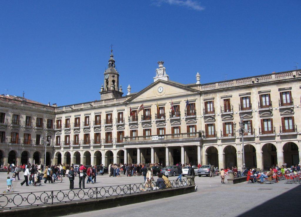 Plaza España de Vitoria