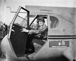 Avión monoplano Hammond-Y construido en 1930 para la Oficina de Comercio Aéreo. Crédito: Harris & Ewing