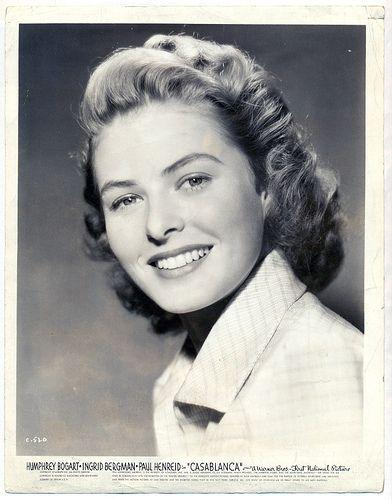 Ingrid Bergman 27 años