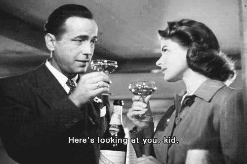 Ingrid Bergman Humphrey Bogart