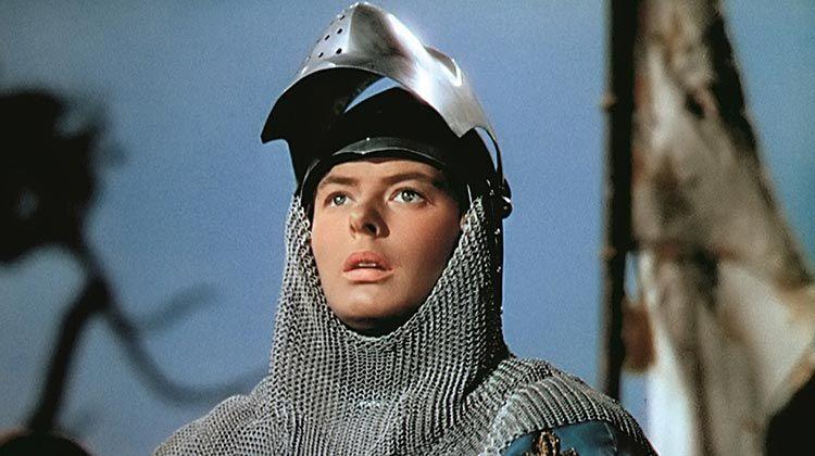 Ingrid Bergman en Juana de Arco