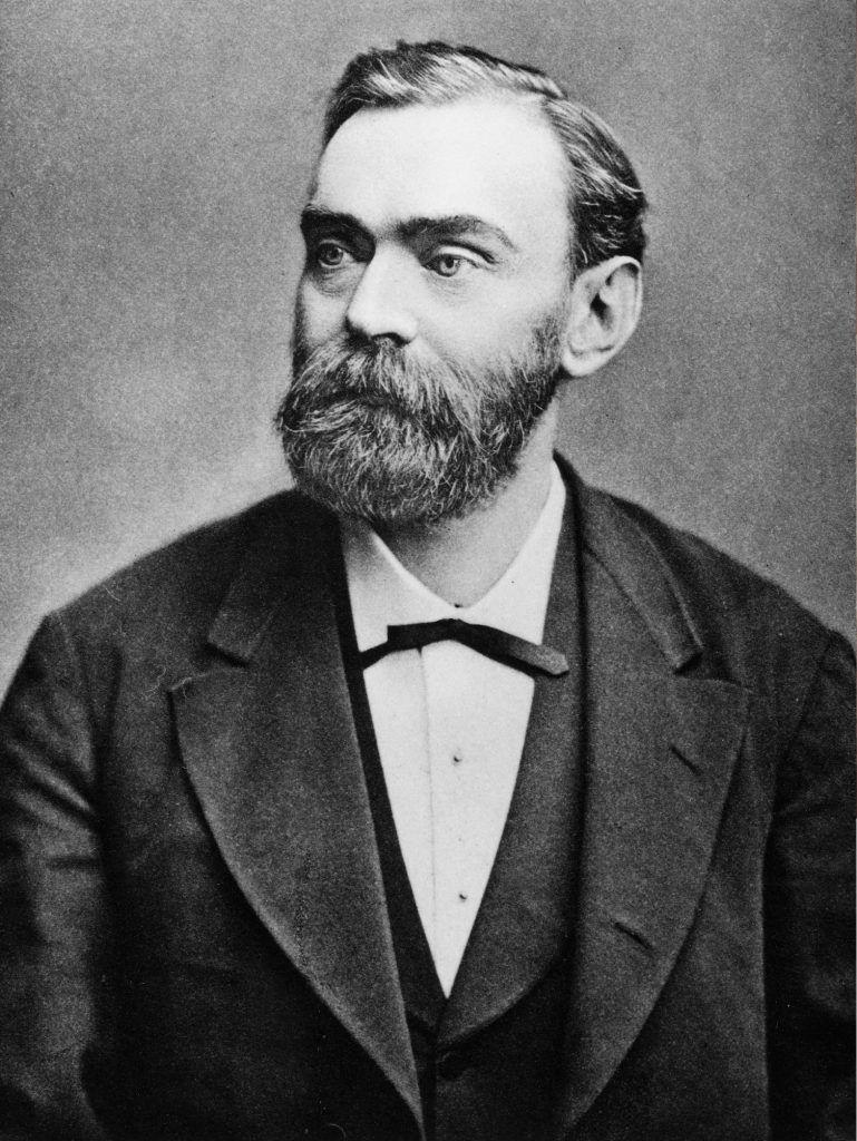Alfred Nobel, inventor de la dinamita y creador de los premios Nobel