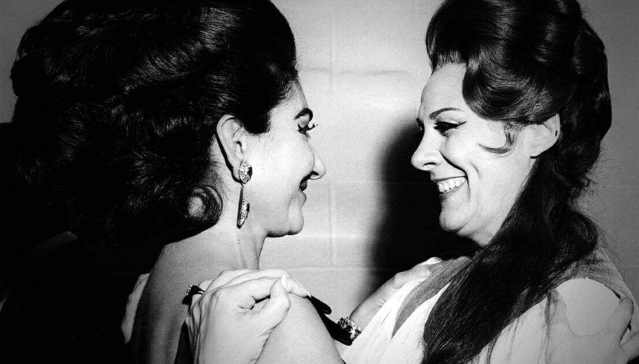 María Callas y Renata Tebaldi