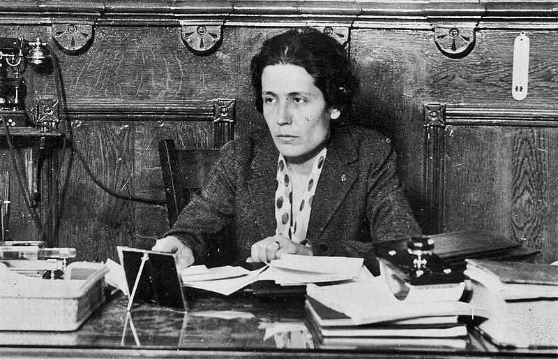 En 1931, Victoria Kent era Directora General de Prisiones.