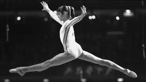 Nadia en los Juegos Olímpicos de Montreal 1976