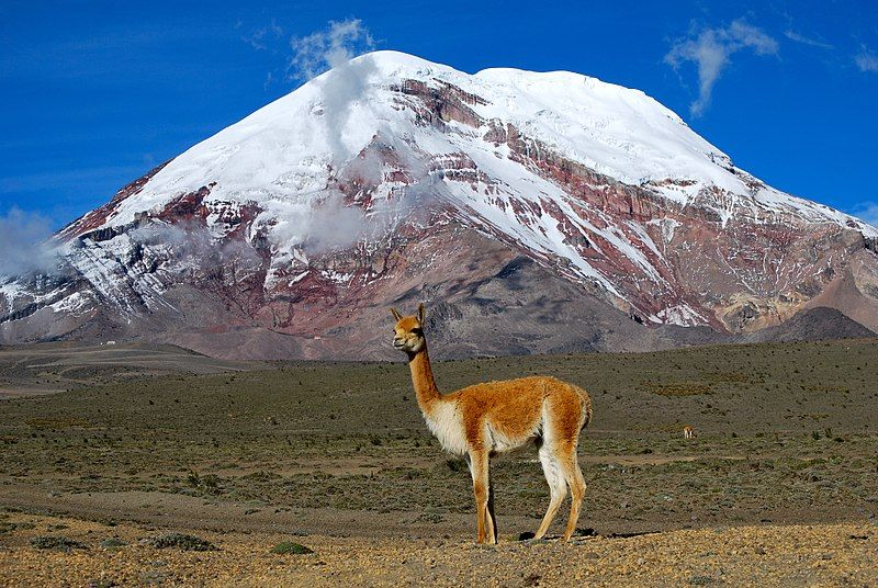 El Chimborazo, en Ecuador. Crédito: David Torres