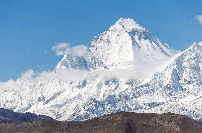 El Dhaulagiri, 8.167 metros. Crédito: el fotógrafo Solundir