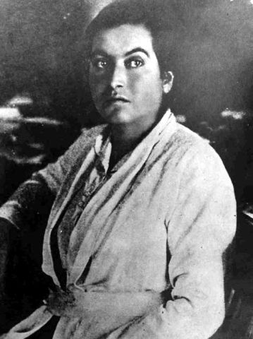 Gabriela Mistral en 1923. Crédito: Wikimedia. Marcelo Fuentes.
