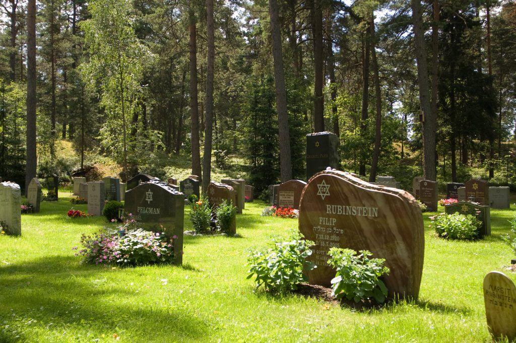 Cementerio en Estocolmo