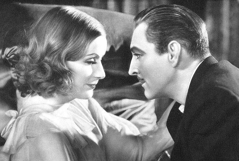 Greta Garbo en la película Gran Hotel. Crédito: Metro Goldwin Mayer