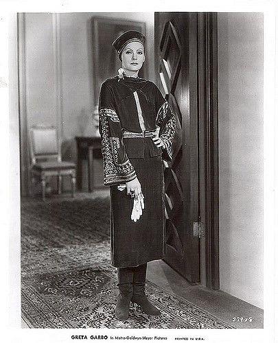 Greta Garbo como Mata Hari