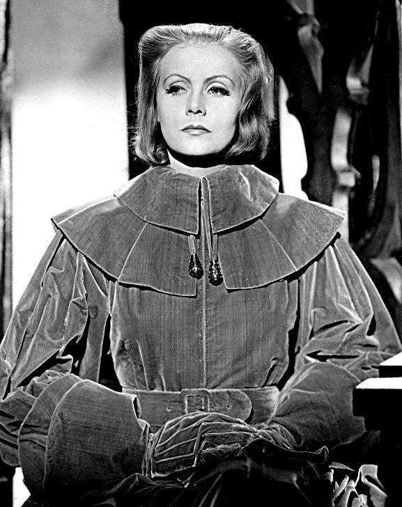 Greta Garbo en la película Reina Cristina de Suecia. Crédito: Studio