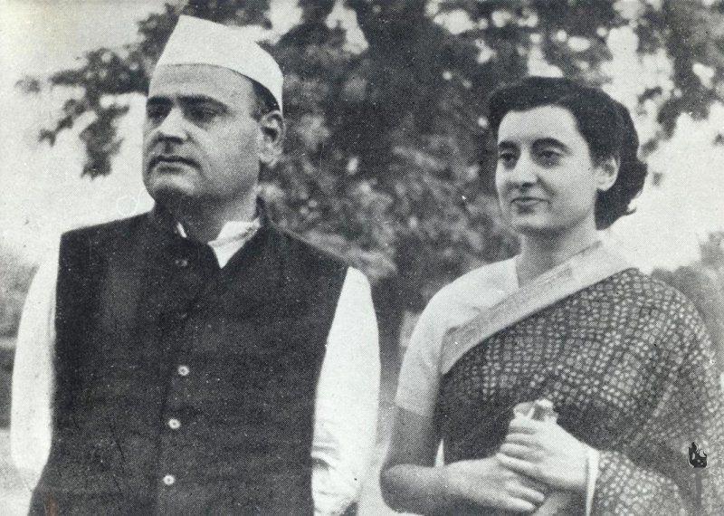 Feroze Gandhi, político y periodista indio. Crédito: Periódico The National Herald