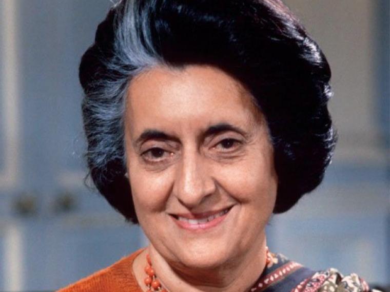 La joven Ministra Indira Gandhi. Crédito: Magazine Muy Interesante