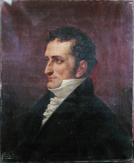 Retrato de Jean Marc Itard, que se conserva en el Instituto Nacional de Jóvenes Sordos de París