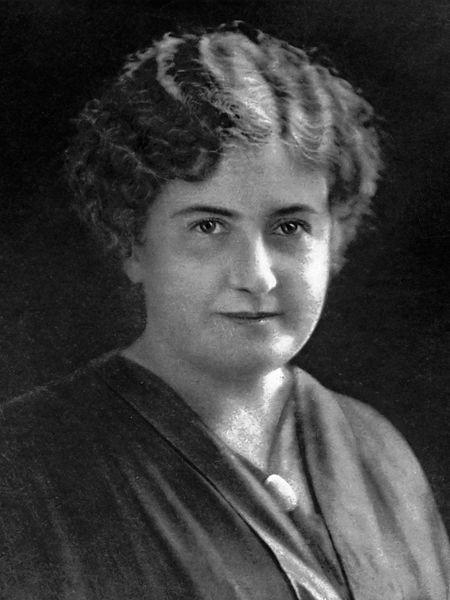 Retrato de María Montessori