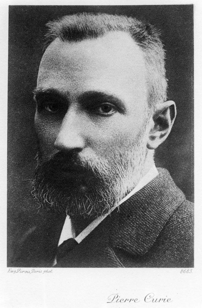 Pierre Curie. Biografía de Marie Curie
