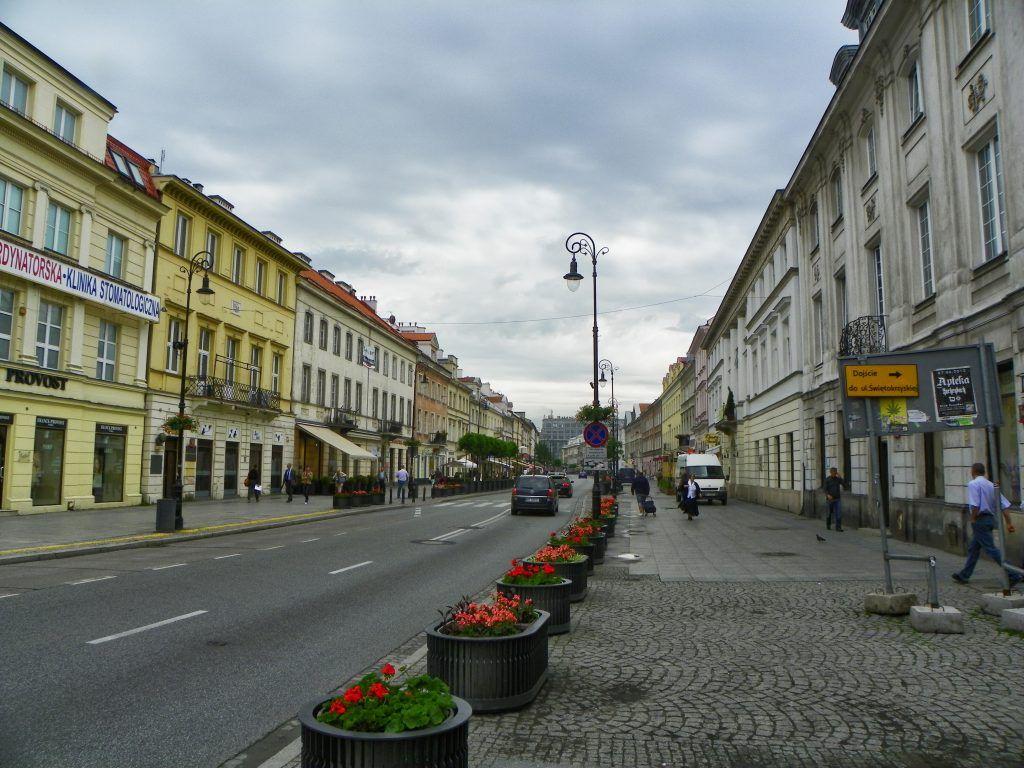 Calle de Varsovia. Biografía de Marie Curie