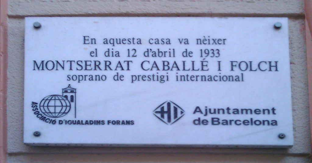 Placa nacimiento Montserrat