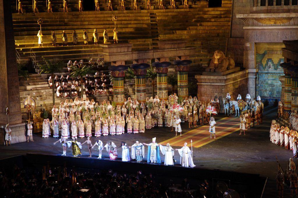 Aida de Verdi en Verona