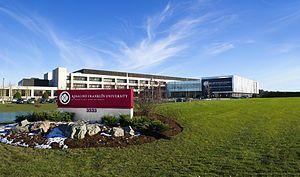 Universidad Rosalind Franklin, Edificio de Medicina y Ciencias, en Illinois. Crédito: Wikipedia