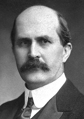William Henry Bragg,, Premio Nobel de Física, junto con su hijo William Lawrence Bragg. Crédito: Nobel Foundation