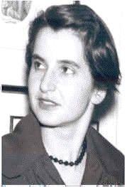 Rosalind Franklin. Crédito: Wikipedia