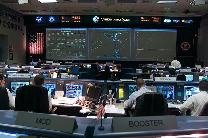 Centro de Control de Vuelo, de la NASA