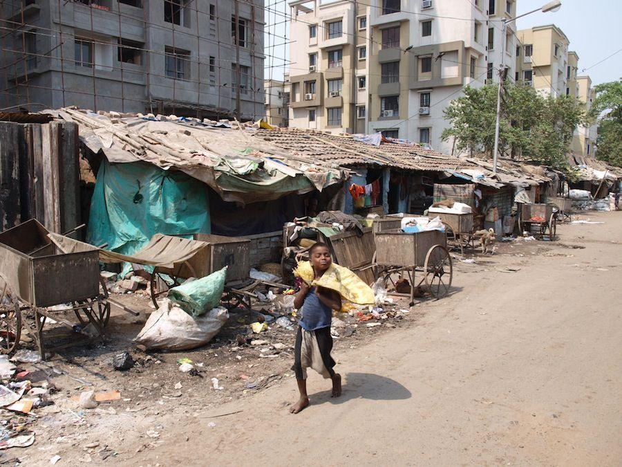 La pobreza en Calcuta conmovió profundamente a la Madre Teresa