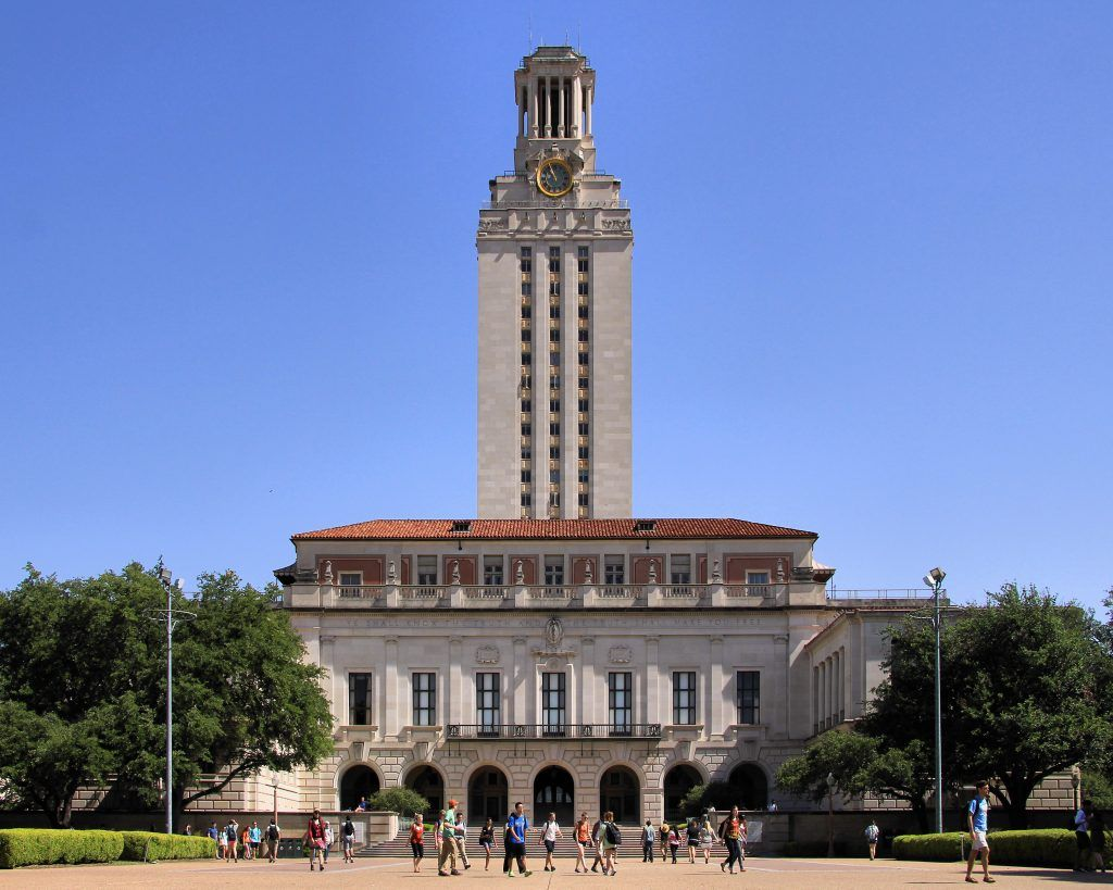 Universidad de Texas en Austin. Crédito: Larry D. Moore