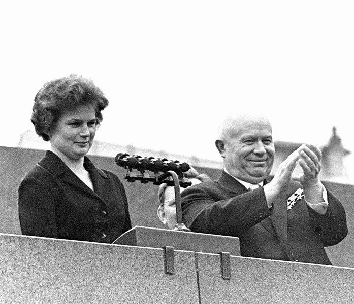 Valentina y Kruschev