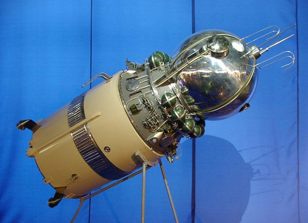 Imagen de la nave espacial Vostok-6 en la que voló Valentina Tereshkova. Crédito: Benutzer HPH