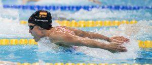 Mireia Belmonte siempre compite a ganar. Crédito: photonec.com