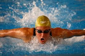 Mireia Belmonte campeona en 200 metros estilo mariposa. Crédito: Harpagornis