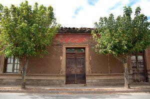 Casa natal de Violeta Parra. Ha sido declarada Monumento Nacional de Chile. Crédito: Eduardo Banderas G.