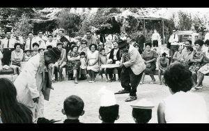 Circo chileno en los comienzos del siglo XX. Crédito: web emol.com