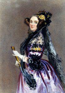 Retrato de la joven Ada Byron, realizado por Alfred Edward Chalon. Crédito: Science & Society Pictures Library