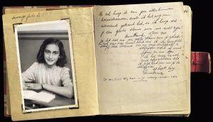 Hoja del Diario de Ana Frank, del 28 de septiembre de 1942. Crédito: Wikimedia