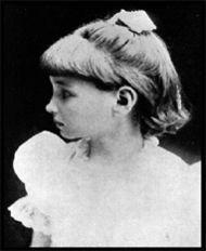 Helen Keller cuando tenía 7 años. Crédito: Wikipedia
