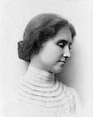 Helen Keller, a los 25 años, en 1905. Crédito: Wikipedia