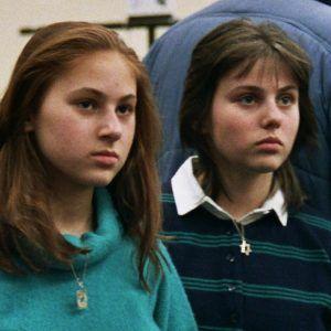 Judit y Sofía en 1988, durante la Olimpiada de Ajedrez, en Tesalónica. Crédito: Wikipedia. GF Hund