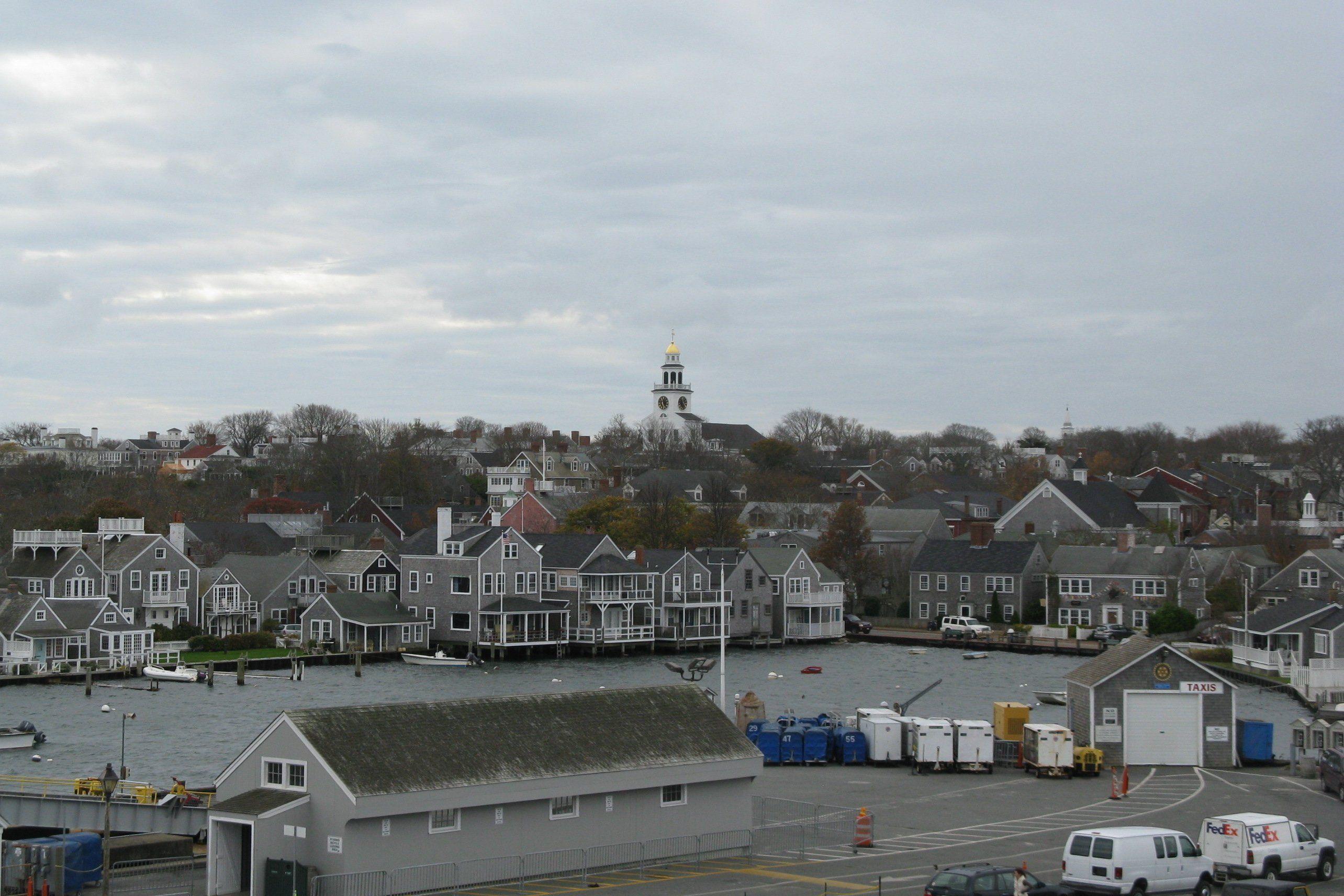 Vista panorámica de Nantucket. Crédito: John Phelan