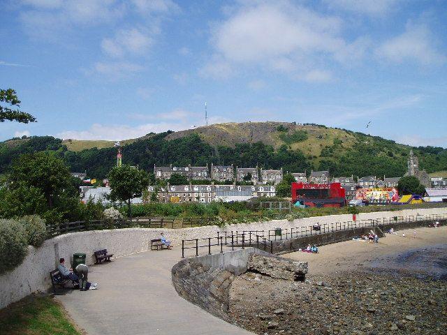 Paisaje de Burntisland. Crédito: Wikipedia