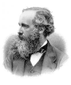 James Clerk Maxwell, matemático y físico escocés. Fue el primero en sugerir que todas las ondas electromágnéticas se propagan a 300.000 km por segundo. Crédito: Wikipedia
