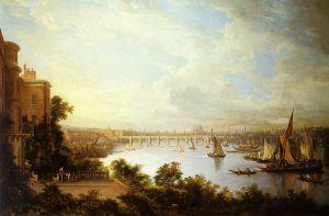 Uno de los cuadros pintados por Alexander Nasmyth, profesor de Maru Somerville. Crédito: Wikipedia. Sally Liddell