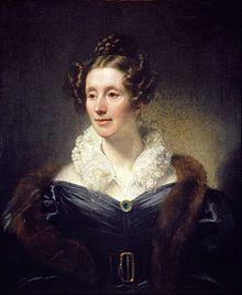Retrato realizado por Thomas Phililps de Mary Somerville, escocesa. matemática extraordinaria del siglo XIX. Crédito: Wikipedia