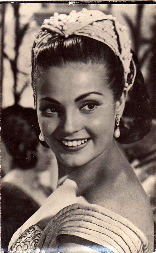 Carmen Sevilla siempre ha irradiado un belleza extraordinaria. Crédito: Beatriz Peña. web bellezapura.com